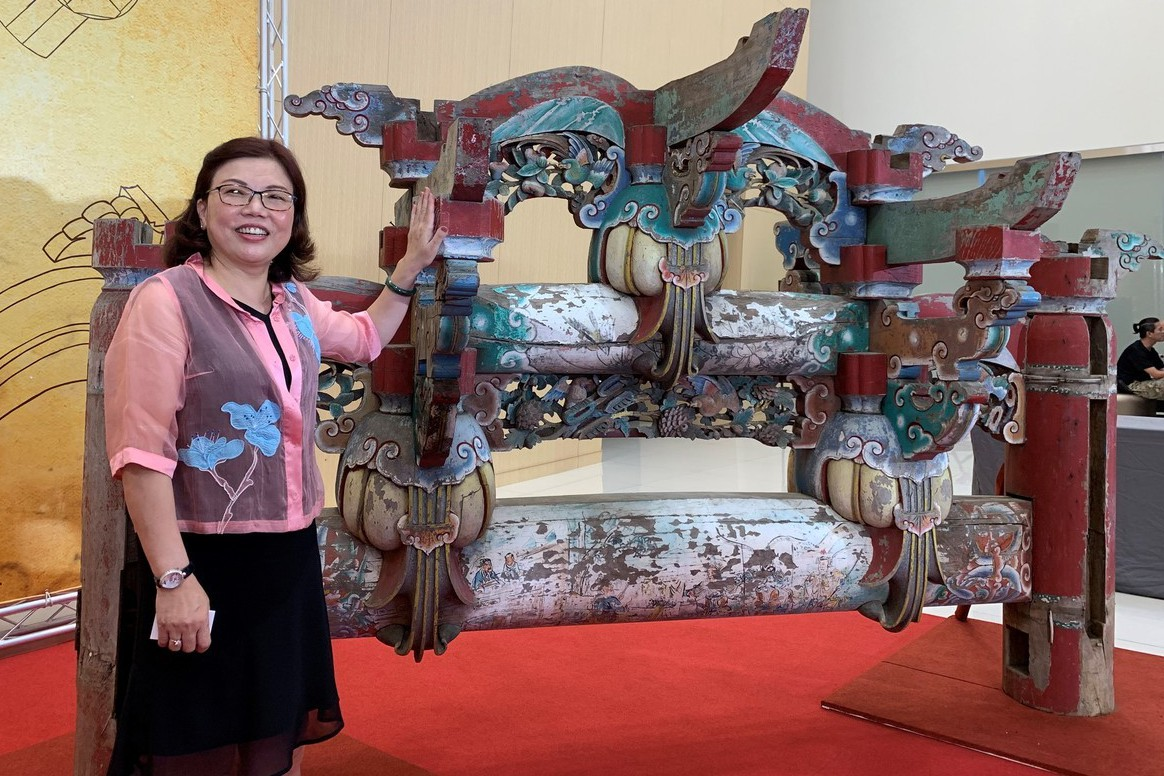 搶救寺廟「二通三瓜」木棟架捐台南 癌末老人完成心願
