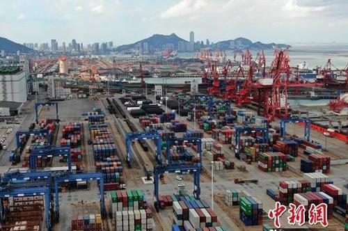 上半年大陸外貿進出口總值年增3.9% 對美國貿易年減9%
