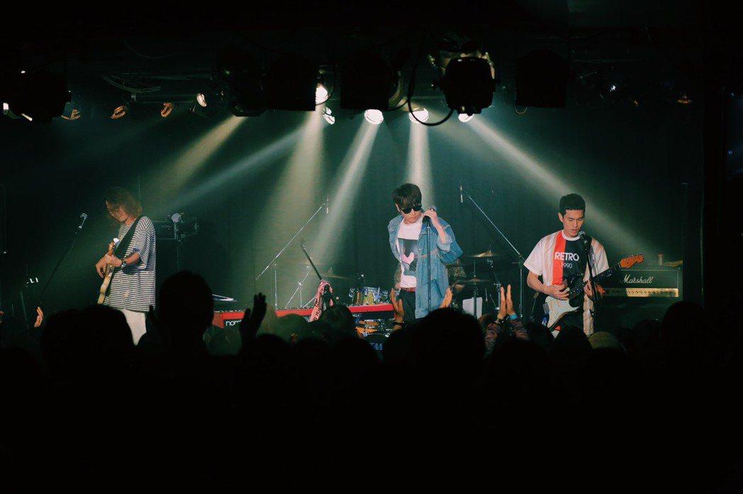 宇宙人日前在名古屋開唱,門票秒殺。圖/相信音樂提供