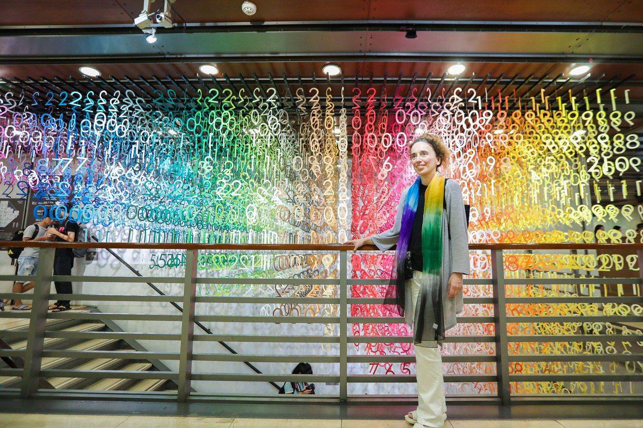 旅日法籍建築設計師Emmanuelle Moureaux為誠品敦南店創作的「10...