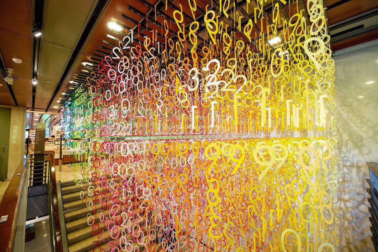 誠品敦南店推出「Emmanuelle:100 colors光譜漫遊」特展。圖/誠...