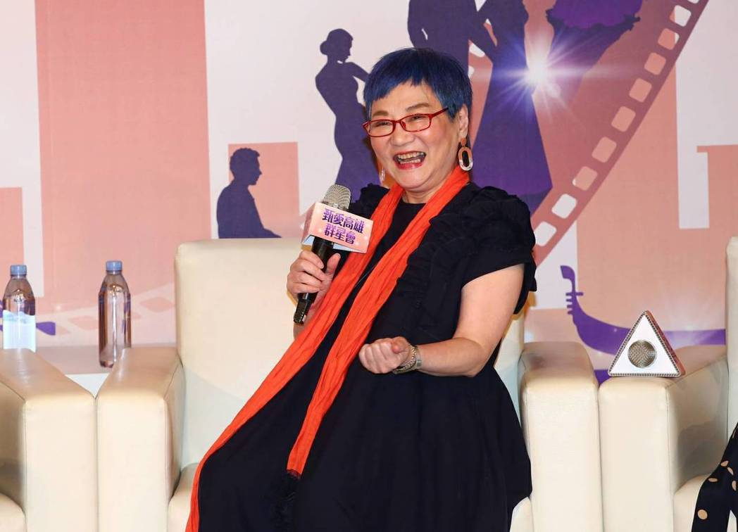 張小燕回顧從影生涯,對拍電影仍有意願。圖/高雄市政府新聞局提供