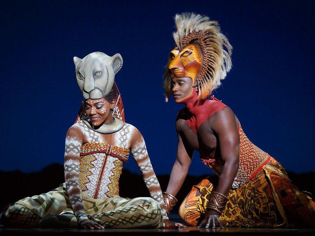 百老匯音樂劇「獅子王」7月20日開始在台演出。圖/寬宏提供