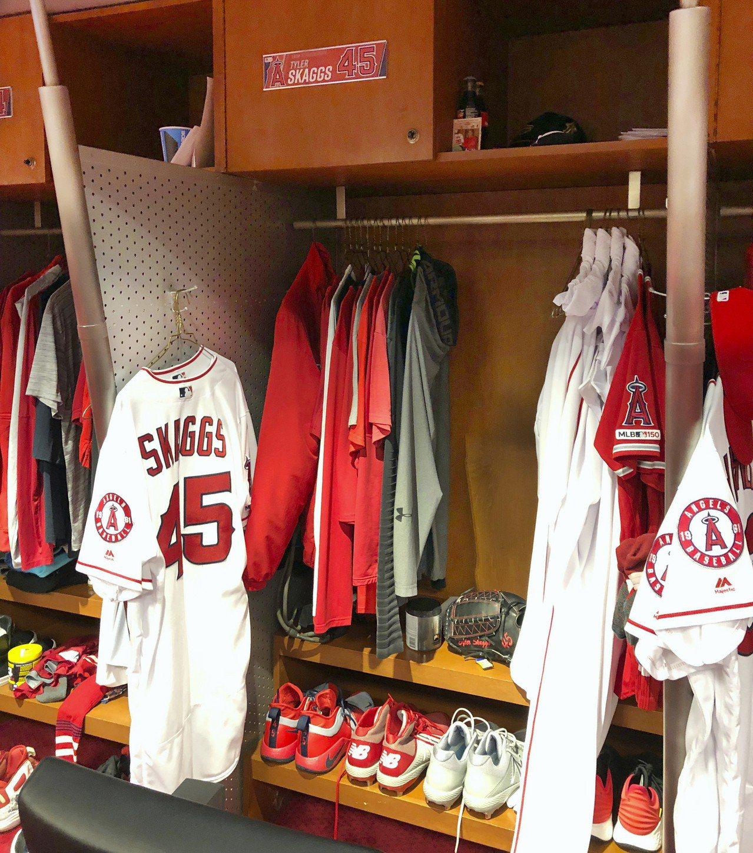 史凱格斯的置物櫃預計會一直保留到球季結束。 美聯社