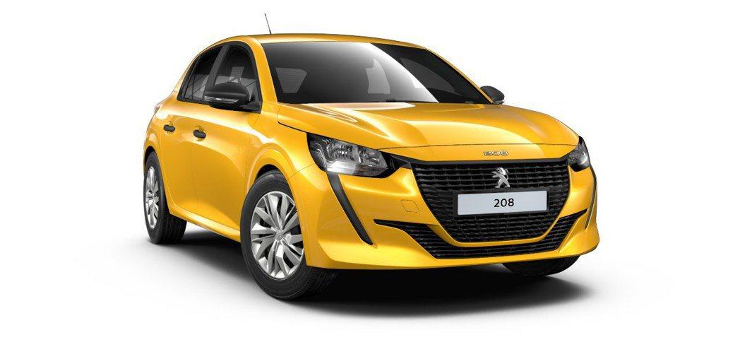 Peugeot 208 Like。 Peugeot提供