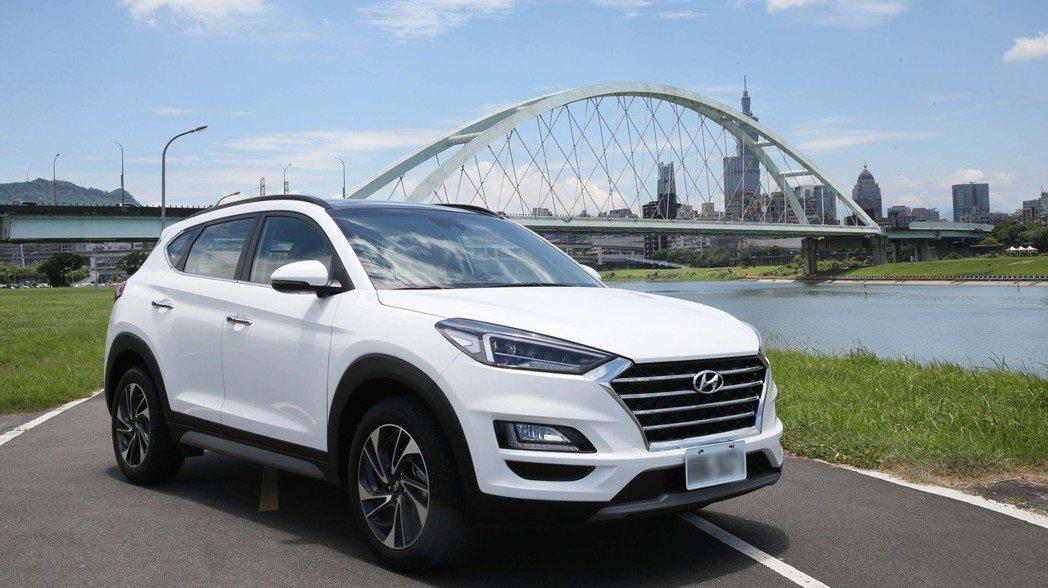 現代汽車全新Tusun 。 記者林俊良/攝影