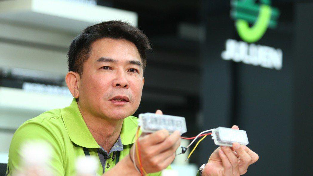 隱型冠軍,JULUEN巨輪興業董事長陳正忠專訪。 記者王騰毅/攝影
