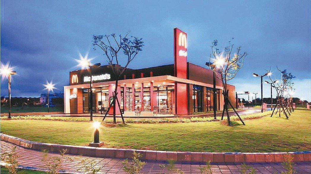 圖為麥當勞全台首座綠色旗艦餐廳「高雄橋頭餐廳」 圖/麥當勞提供