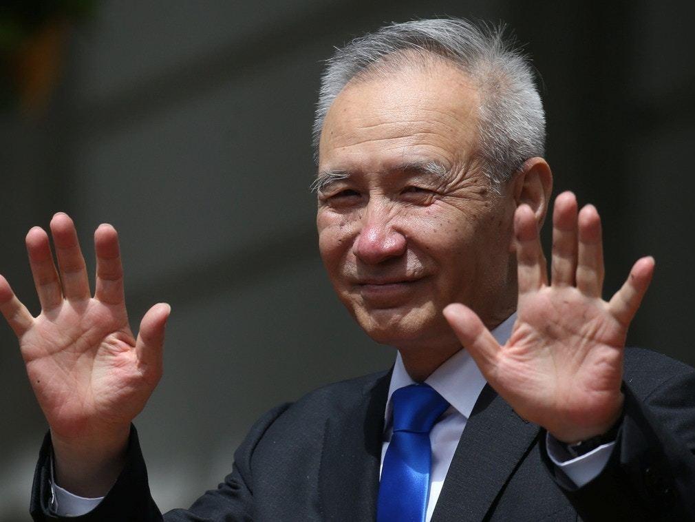中美貿易談判重啟前 劉鶴南京調研經濟。 新華社