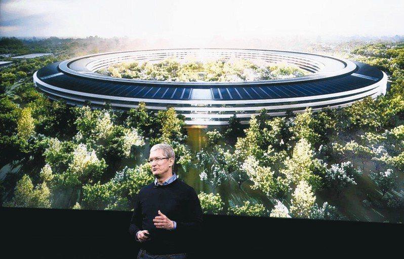蘋果新總部「蘋果園區」鑑價41億7000萬美元,成全球最貴建築之一。 路透