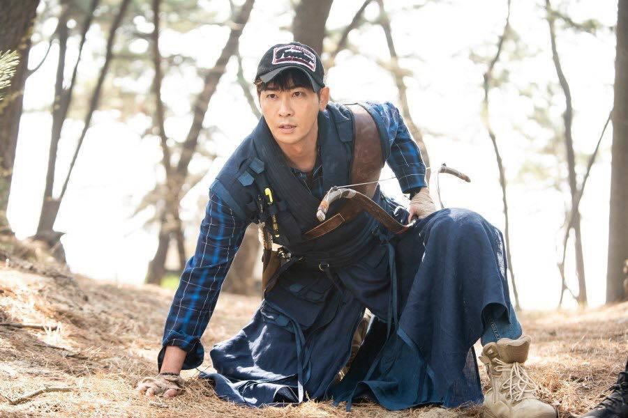 姜志煥目前主演的ON檔劇《朝鮮生存記》本週暫停播出。圖/擷自TV朝鮮