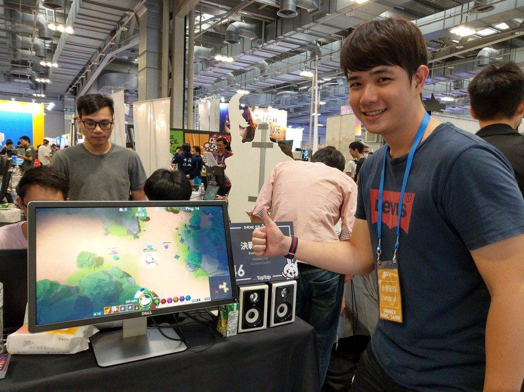 《決戰進化島》遊戲項目發起人郭俊龍。
