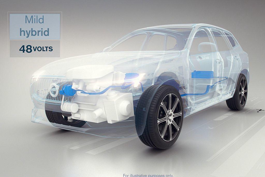 Volvo Cars也開始交付Mild-Hybrid輕度複合動力車款,不僅是品牌...