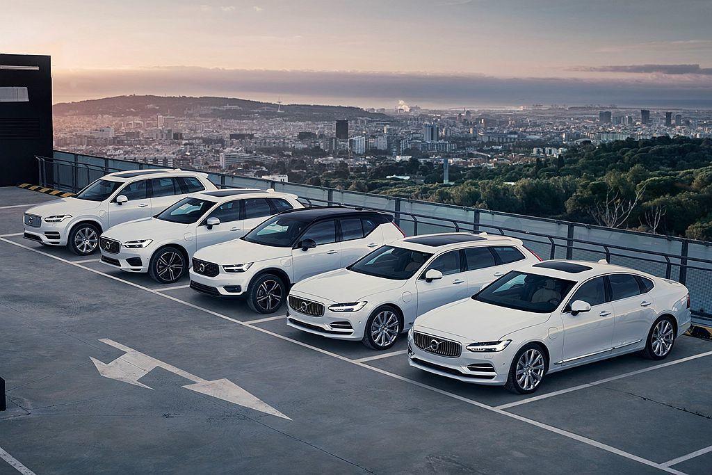 Volvo汽車2019上半年全球銷售報告中,光XC系列休旅車就佔整體銷售的60....