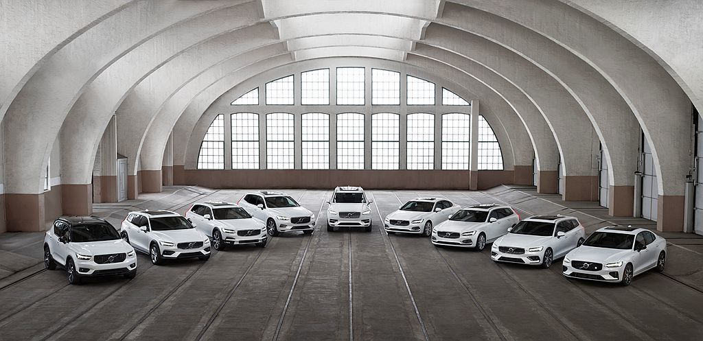 Volvo汽車今年1-6月於全球共銷售出340,826輛各式新車,相比2018年...