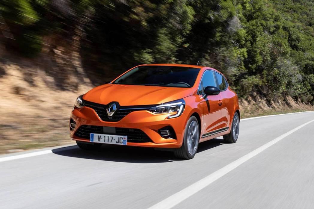 新世代Renault Clio。 摘自Renault