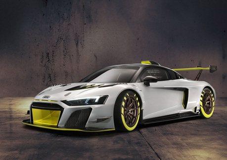 Audi Sport全新R8 LMS GT2賽車現身!630匹馬力的賽道玩具!
