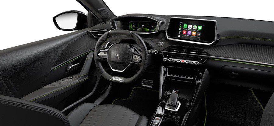 Peugeot 208 GT Line內裝。 Peugeot提供