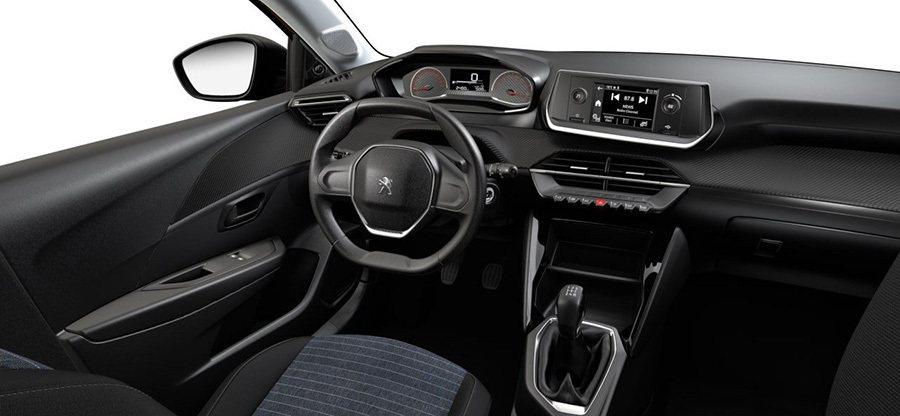 Peugeot 208 Like內裝。 Peugeot提供