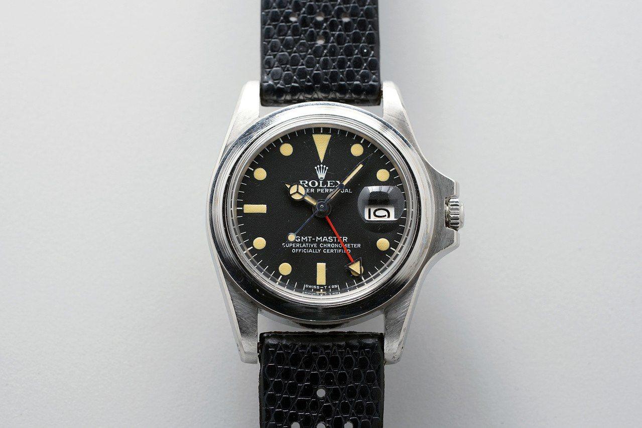馬龍白蘭度的無表圈勞力士GMT-Master 型號1675腕表將於12月透過富藝...