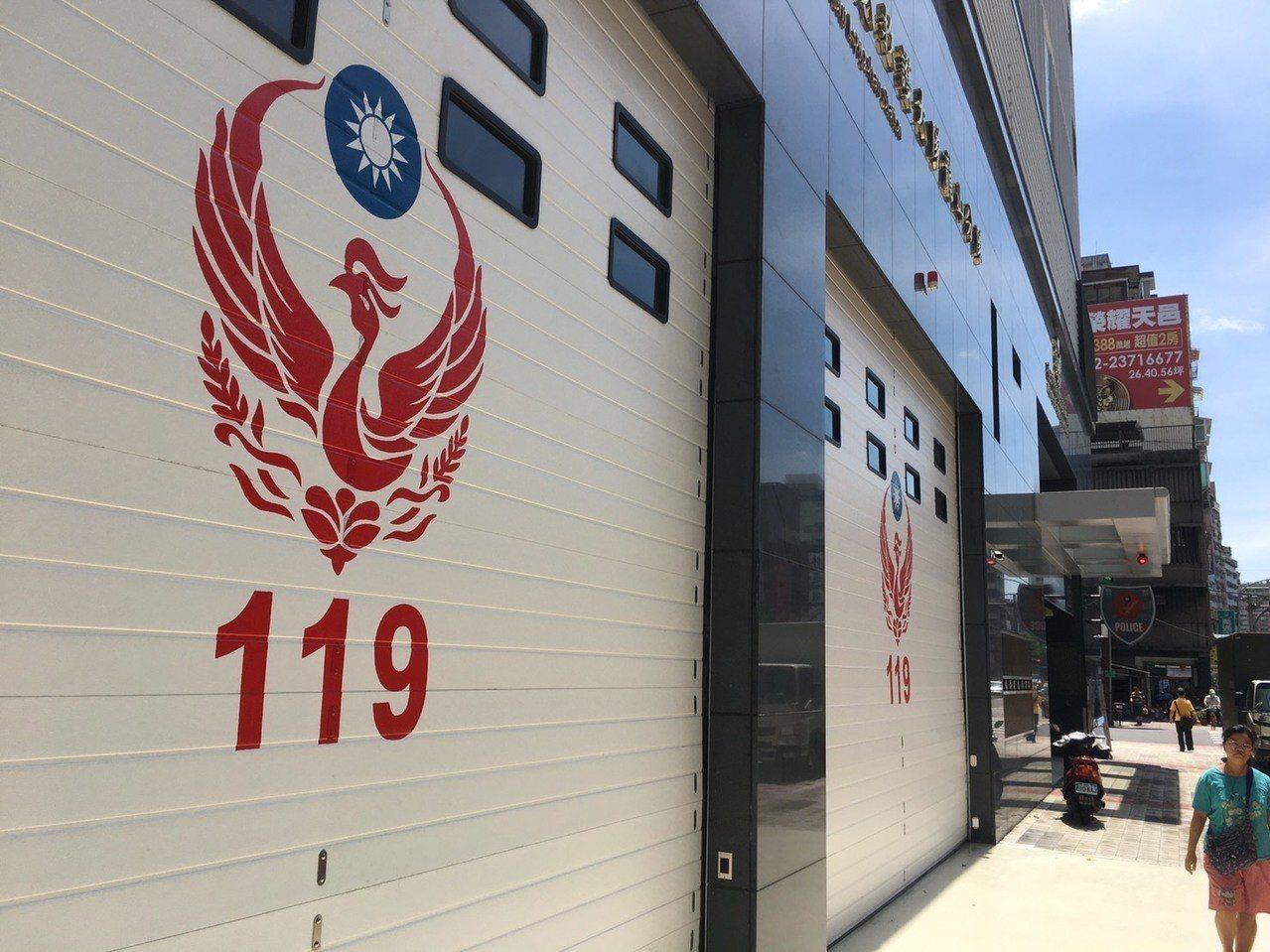 萬華警分局與消防局龍山分隊駐地為同棟大樓。記者李隆揆/攝影