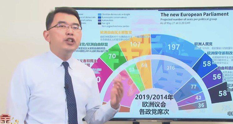 新黨總統參選人楊世光 圖/擷自Youtube