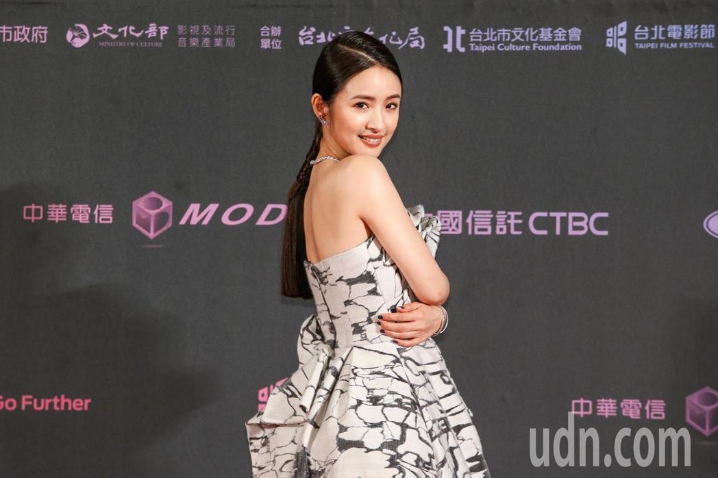 2019台北電影獎頒獎典禮,林依晨擔任影展大使。記者曾原信/攝影