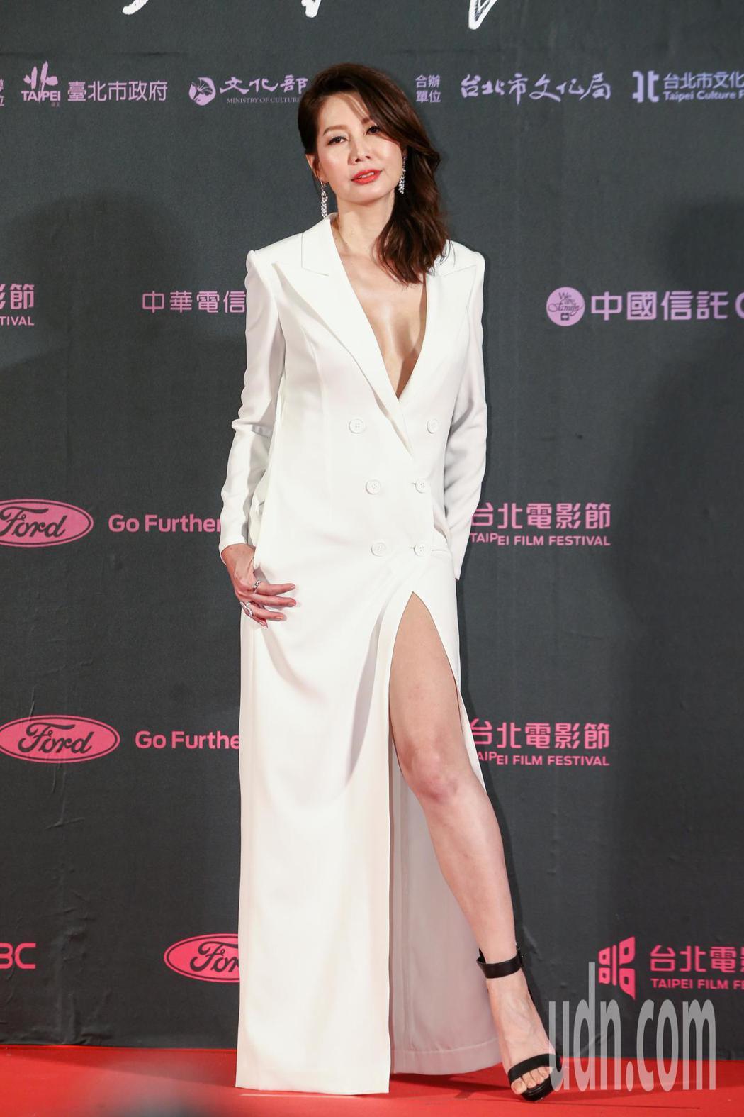 台北電影獎劇情長片幸福城市的女配角丁寧。記者曾原信/攝影
