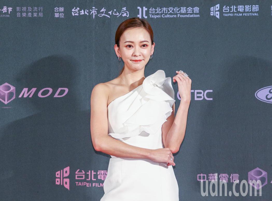 台北電影獎頒獎人陳意涵。記者曾原信/攝影