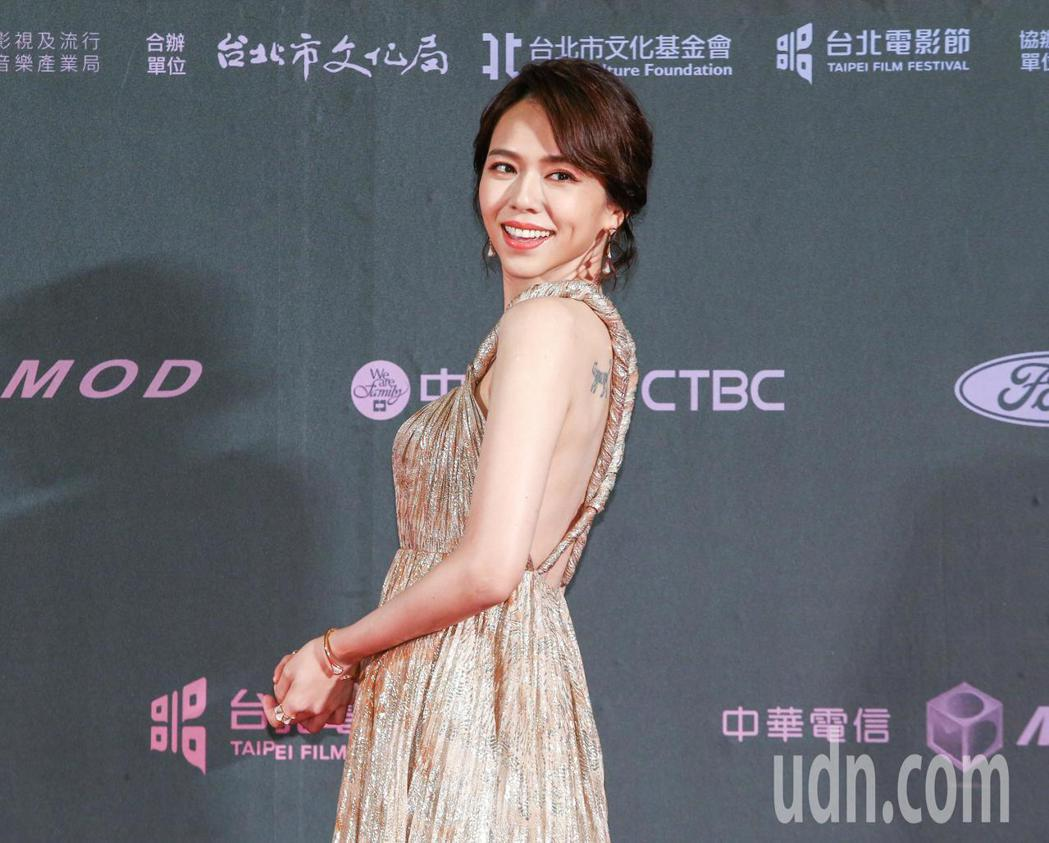台北電影獎頒獎人夏于喬。記者曾原信/攝影
