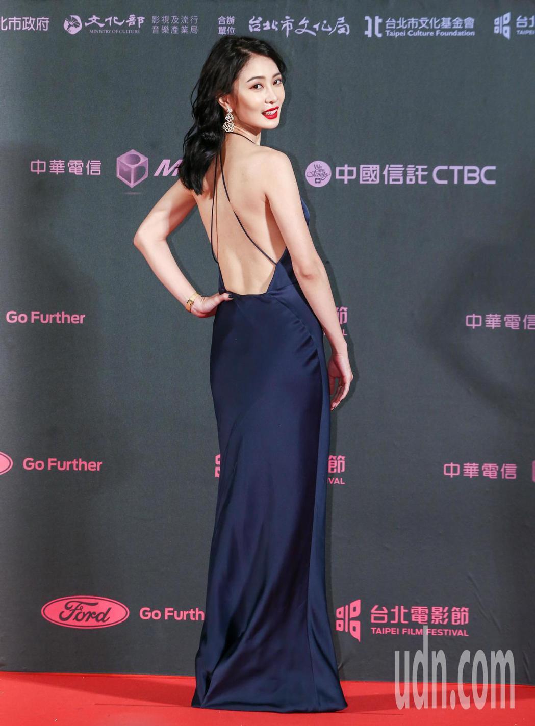 台北電影獎劇情長片野雀之詩女主角李亦捷。記者曾原信/攝影