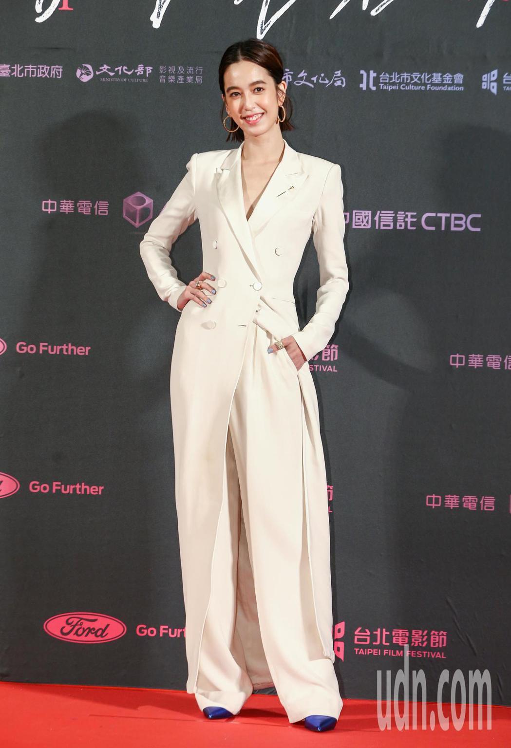台北電影獎頒獎人陳庭妮。記者曾原信/攝影