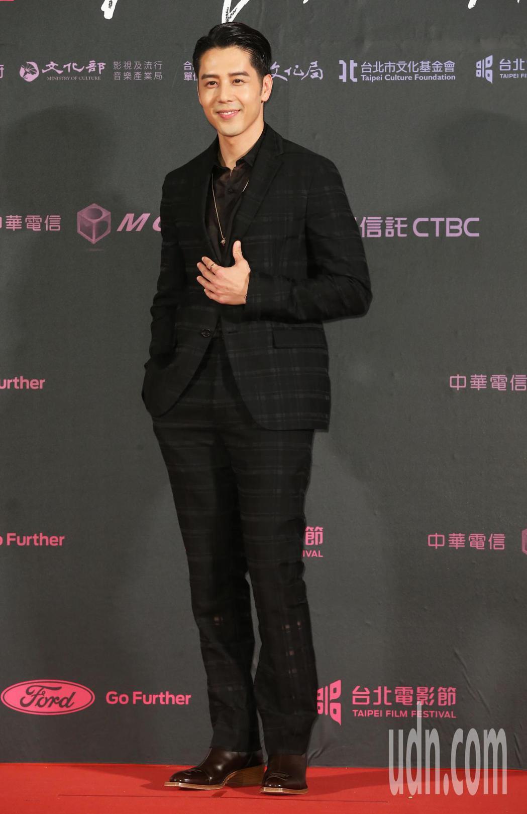 胡宇威擔任2019台北電影節獎頒獎人。記者徐兆玄/攝影