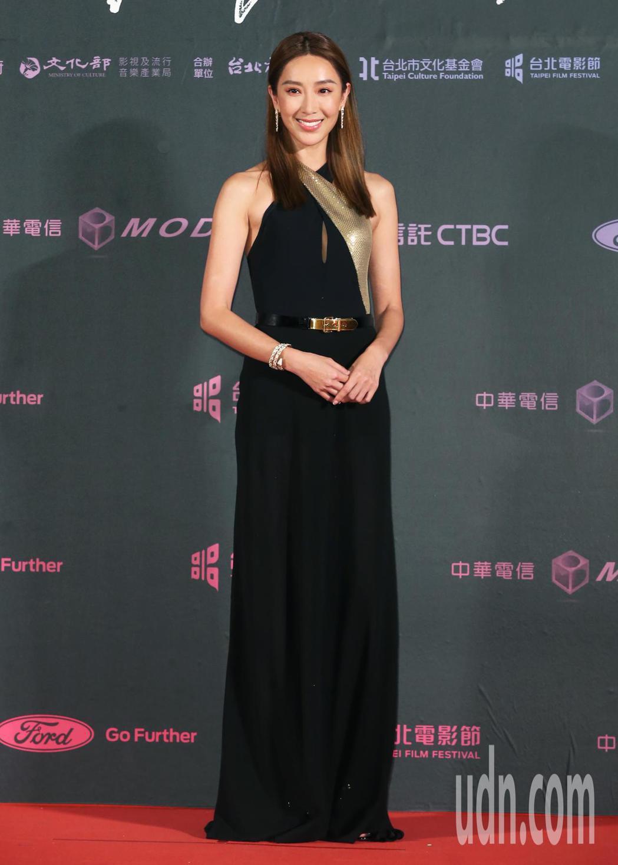 隋棠擔任2019台北電影節獎頒獎人。記者徐兆玄/攝影