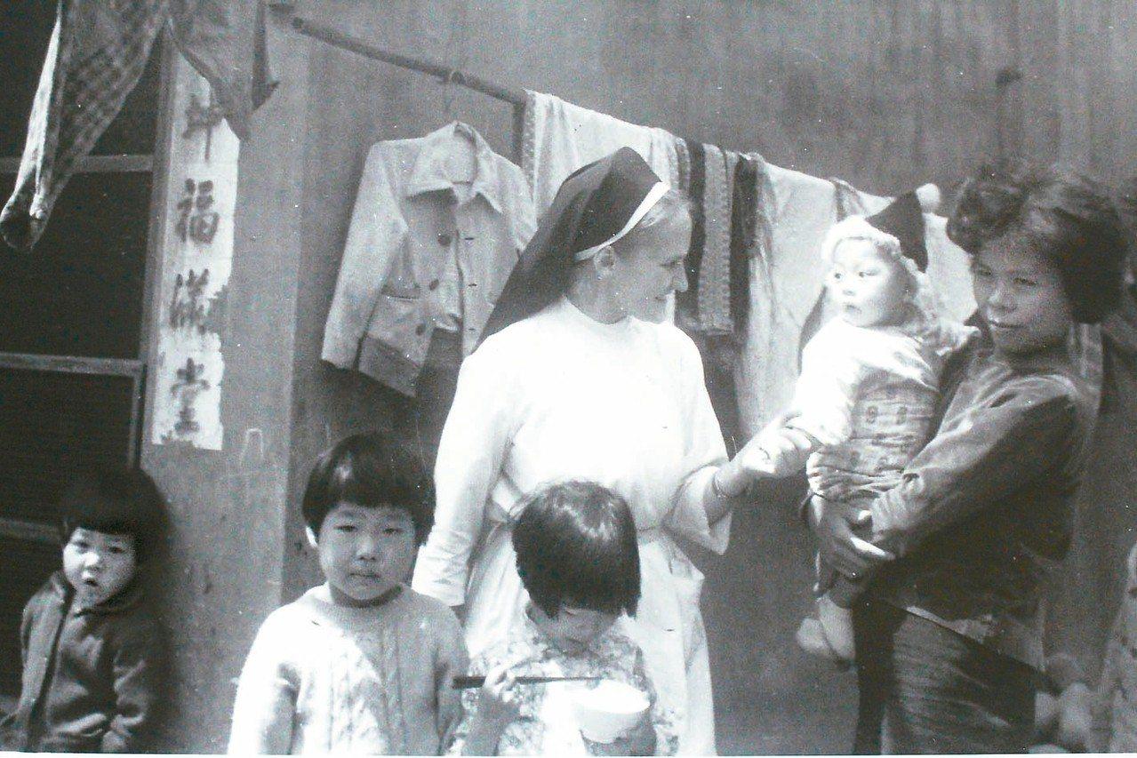 葛永勉26歲就來台服務將近一甲子,強調「台灣就是她的家鄉」。 圖/天主教聖母聖心...