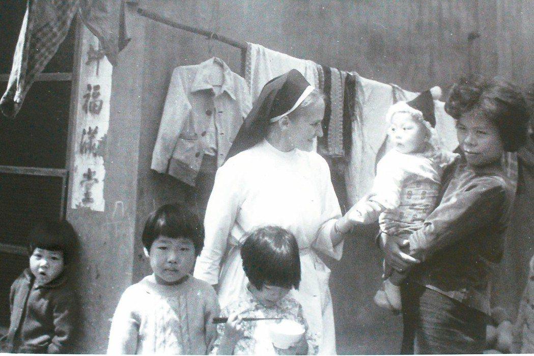 修女葛永勉26歲就來台服務將近一甲子,強調「台灣就是她的家鄉」。 圖/天主教聖母...