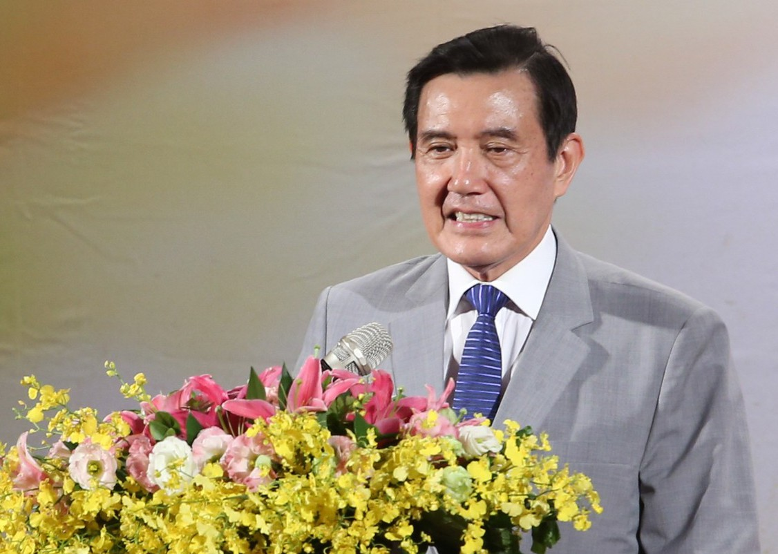 前總統馬英九出席「2019兩岸合唱音樂饗宴」開幕儀式。 記者葉信菉/攝影
