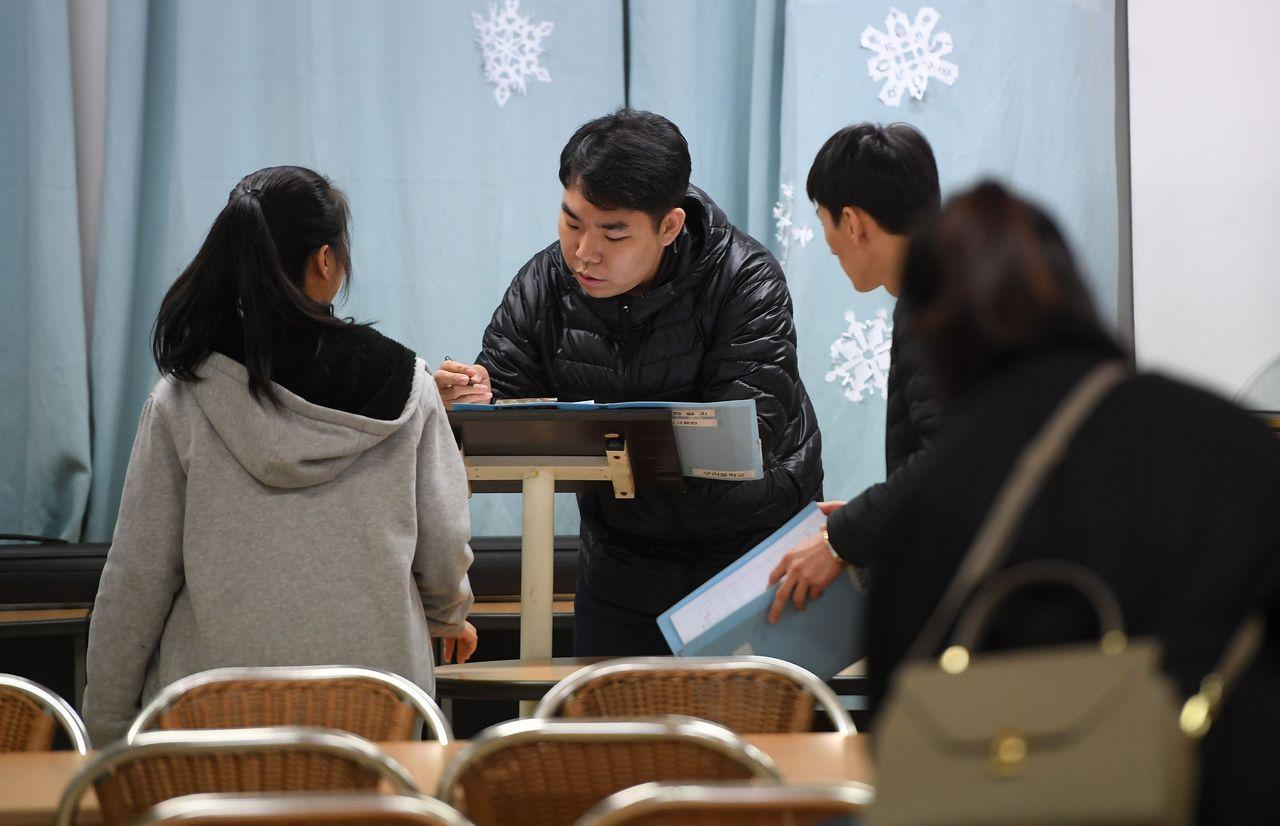 脫北者所受教育有限,甚至不到南韓小學至中學的基本程度。 (法新社)