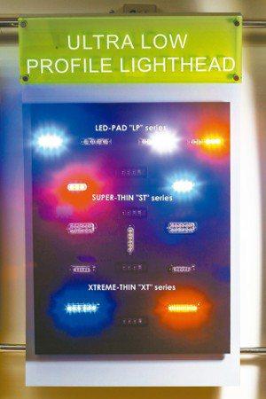 巨輪各類警示燈產品。
