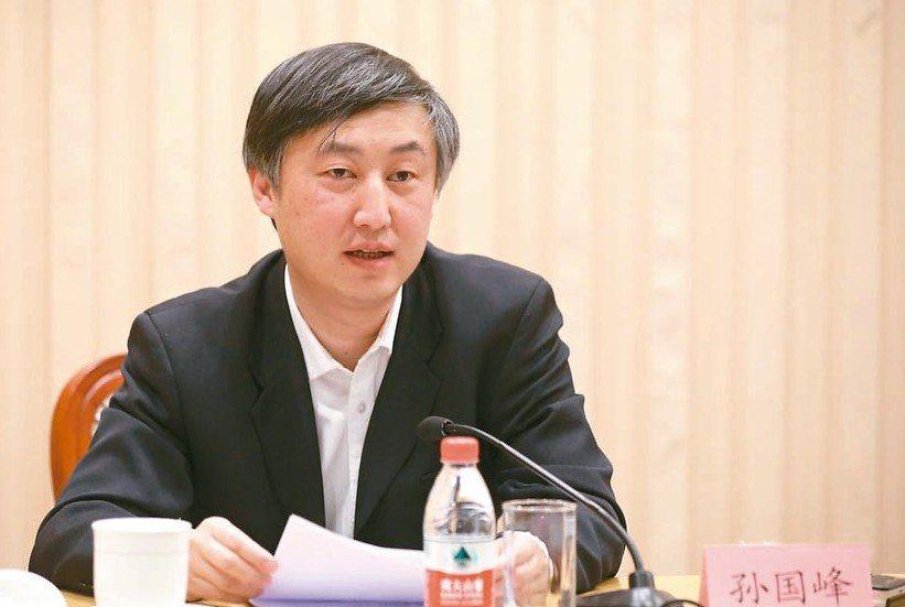 人行貨幣政策司司長孫國峰 網路照片