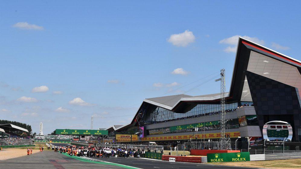 2020年將是在銀石賽道開始舉辦F1大賽70周年。 摘自F1