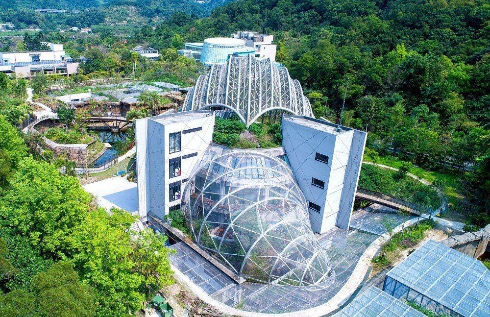 穿山甲館以台灣穿山甲為造型。圖 / 台北市立動物園提供