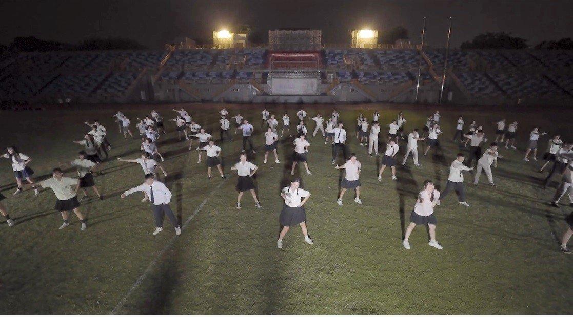 屏東九校聯合舞展今天下午登場。圖/翻攝自舞展影片
