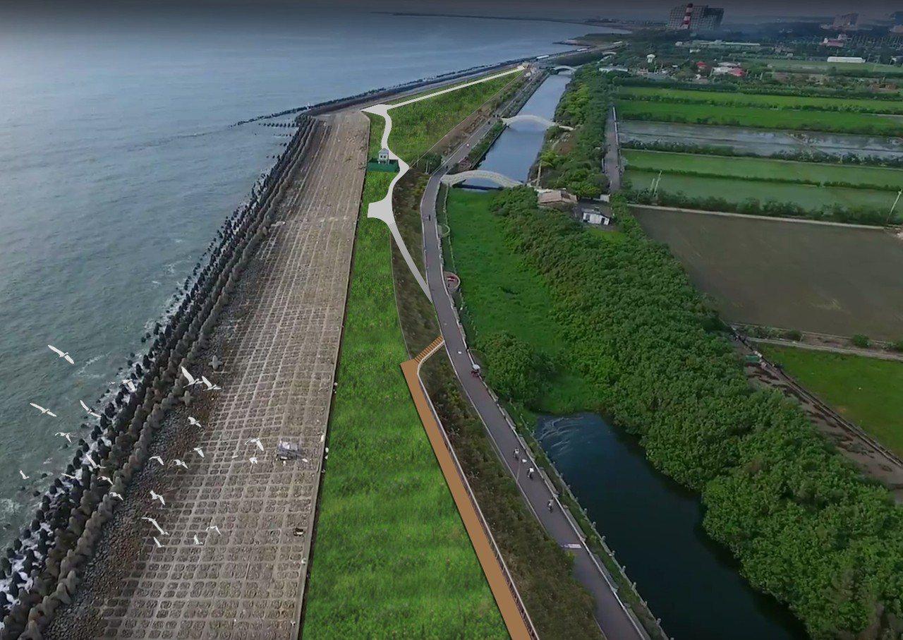 新竹市升級水岸環境,近日獲經濟部水利署與交通部觀光局補助,共2億7000萬經費,...