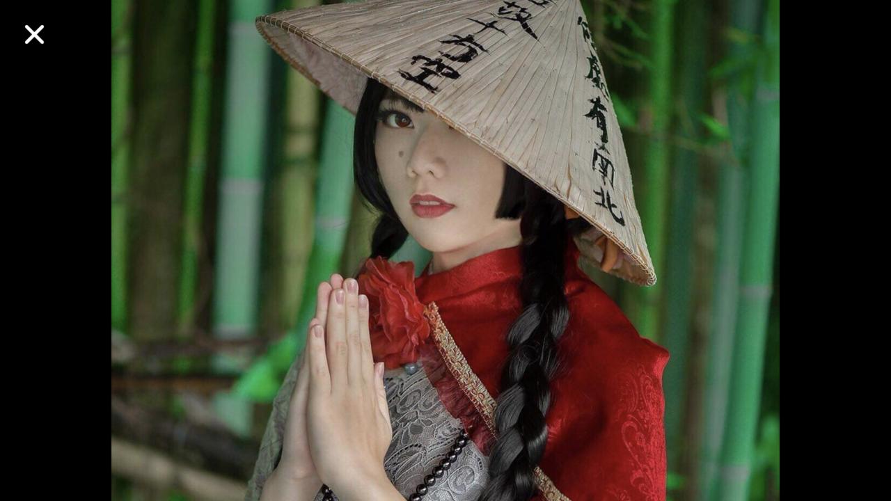 林釗宇到日本cosplay,扮相嬌俏。圖/林釗宇父親提供