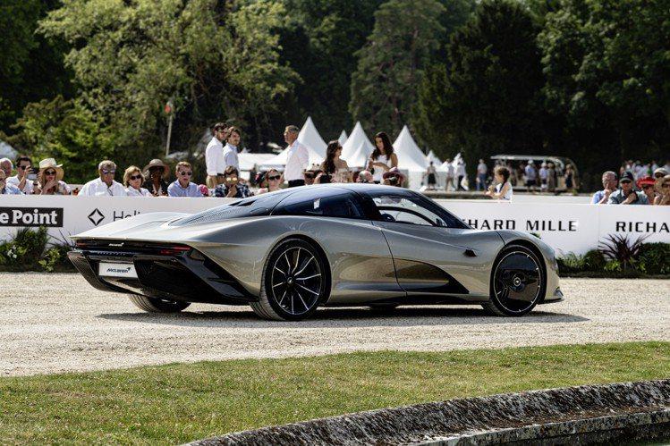 RICHARD MILLE尚蒂伊「藝術與雅致」車展,合作夥伴McLaren還展出...