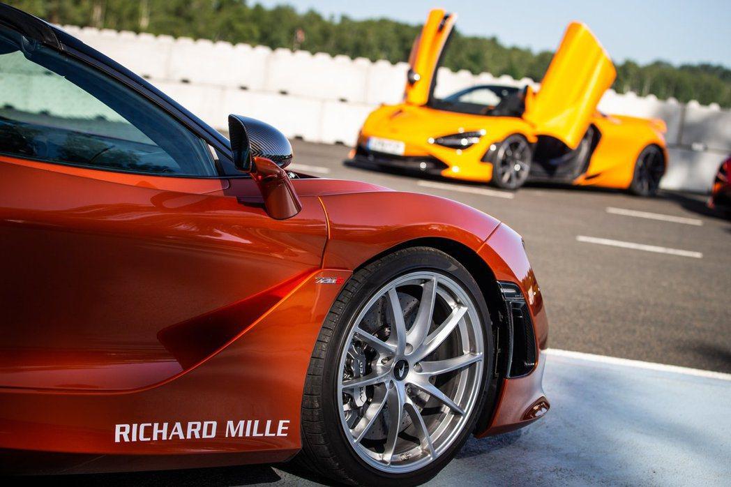 於RICHARD MILLE尚蒂伊「藝術與雅致」車展前夕,麥拉倫提供了全新720...