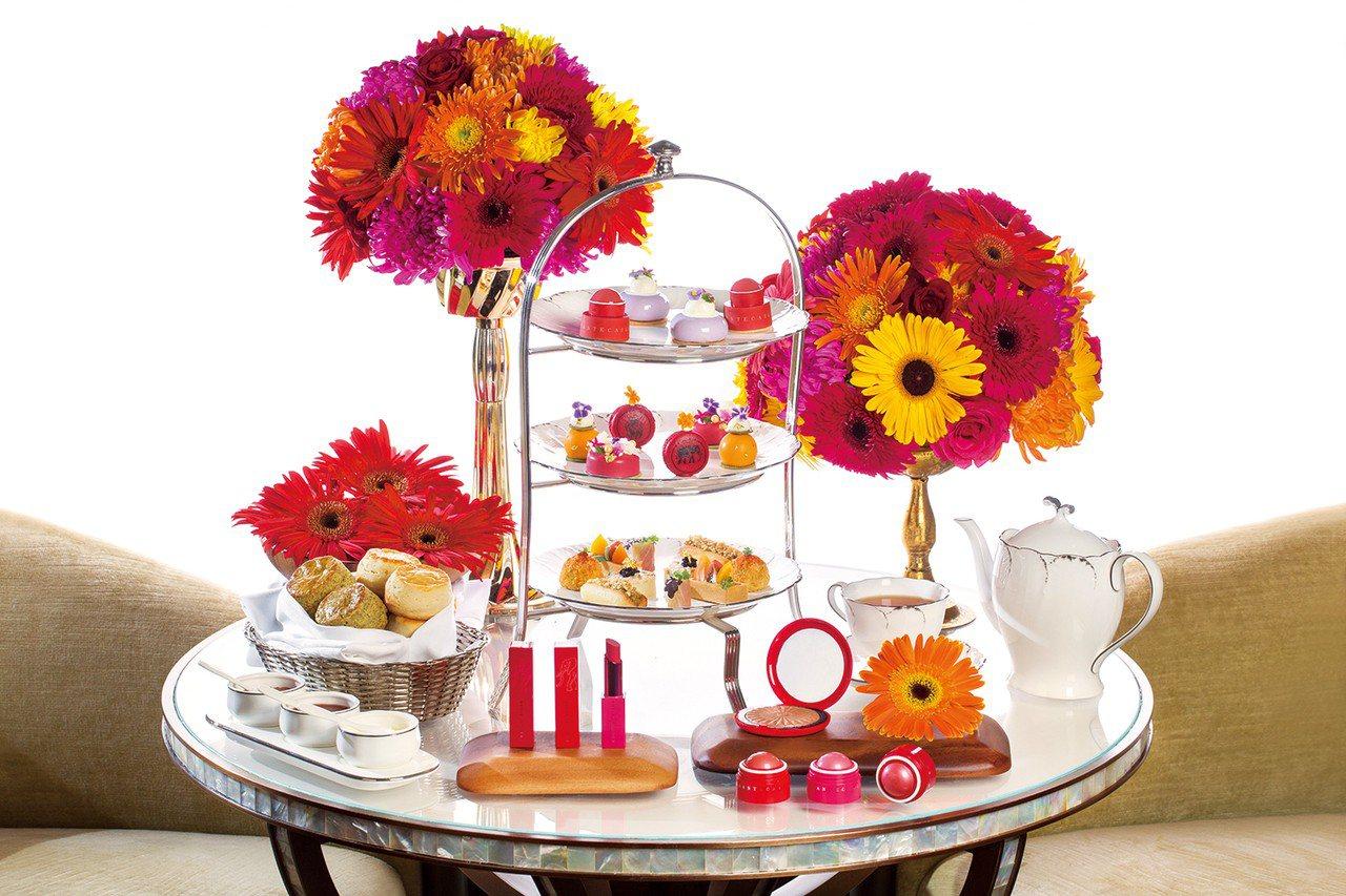 香緹卡與文華東方酒店,推出聯名下午茶。圖/香緹卡提供