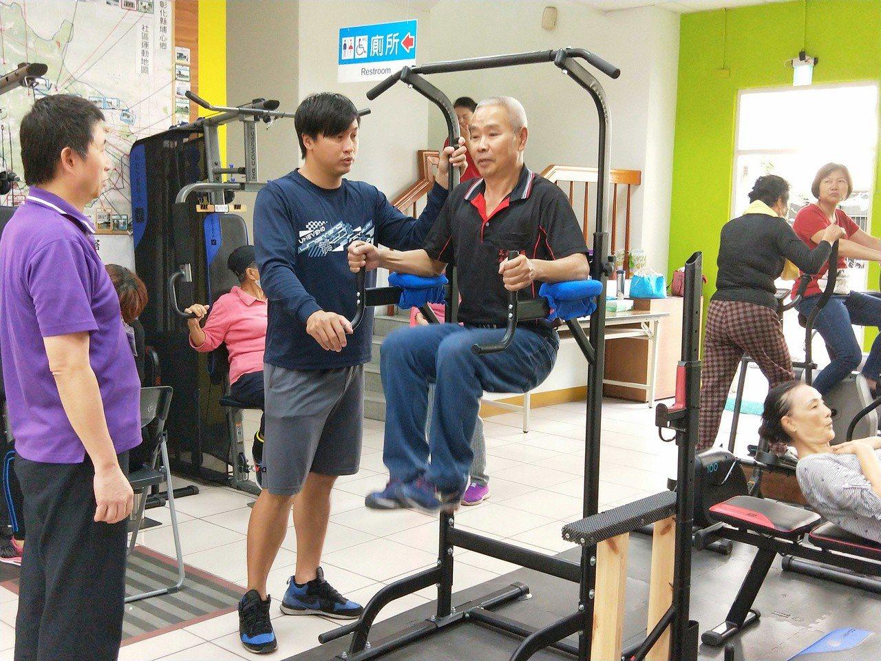 埔心鄉公所是彰化縣第一個推動不老健身房的衛生所,最近獲得第二屆「政府服務獎」的「...