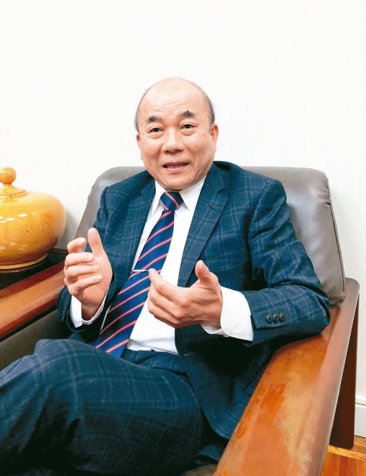 台灣機械公會理事長柯拔希。圖/聯合報系資料照片